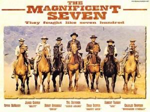 荒野の七人 輸入版ポスター