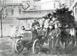 日本最古の車