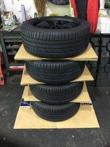 タイヤ保管方法