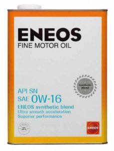 ENEOS FINEモーターオイル0w-16